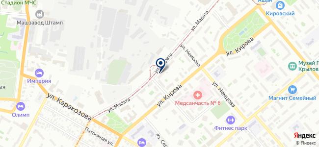 Хомяк на карте