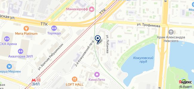 Светорус, ООО на карте
