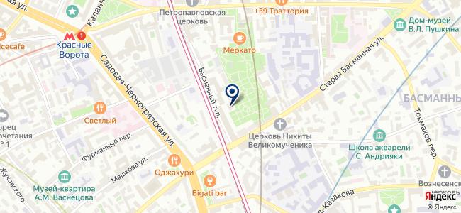 Трансэлектромонтаж на карте