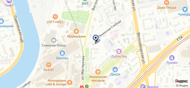 Гидрогазкомплект на карте