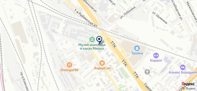 LASERBUILD на карте