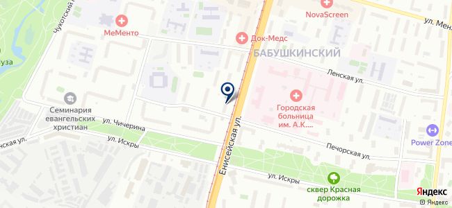 Альвиком на карте