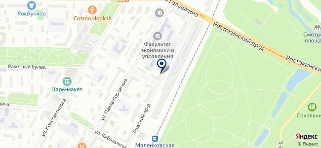 Марбел М на карте
