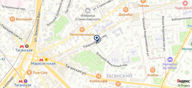 ELAN на карте