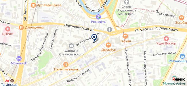 Юникорд на карте