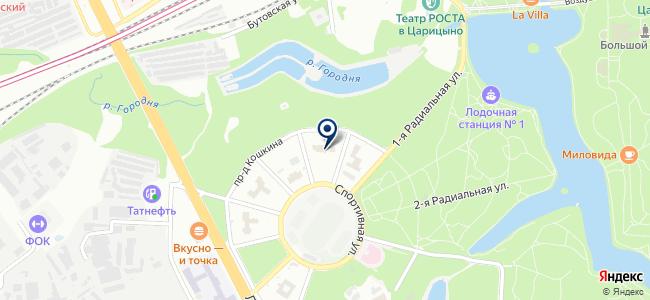 ЭлекТрейд-М, ЗАО на карте