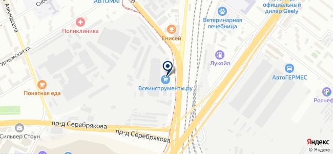 Севкабель на карте