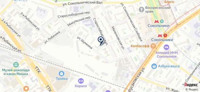 Центр технического обслуживания средств измерений и автоматики, ОАО на карте