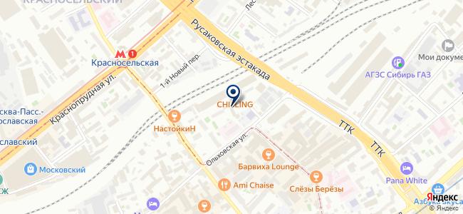 Октанта на карте