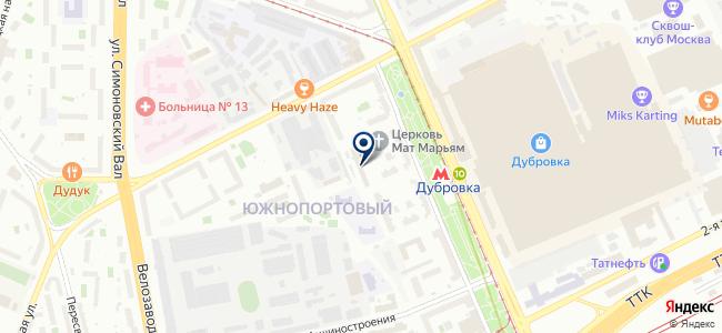 Элмос, ЗАО на карте