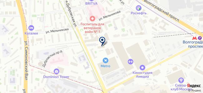 ГАРС ТЕЛЕКОМ-УТ, ООО на карте