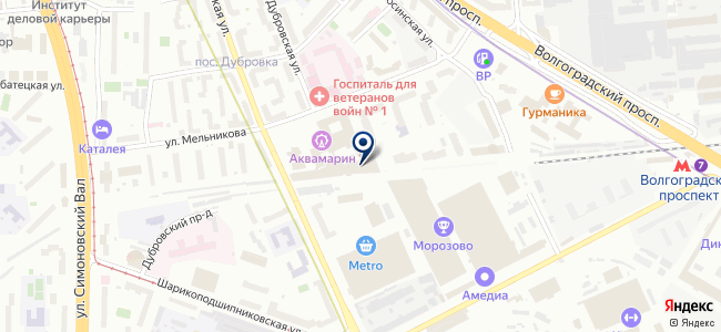 Quickmade на карте