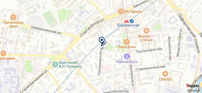 МПО Электромонтаж, ЗАО на карте