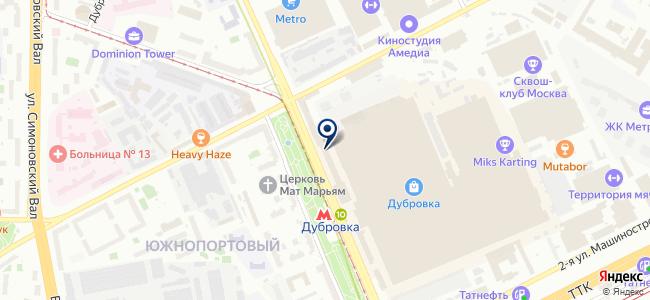 А на карте