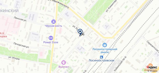 МИБ Б на карте