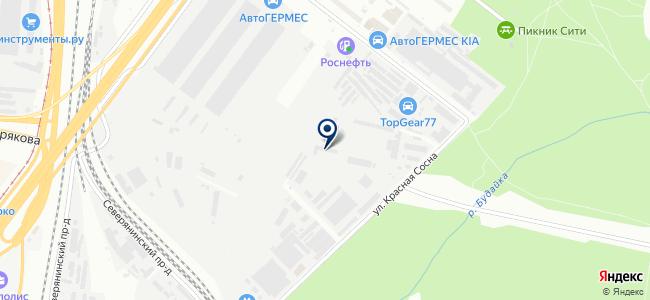 Стройкомплекс-3 на карте