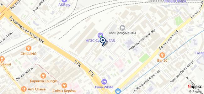 Автосервис на Новой Переведёновской, 8 ст2 на карте