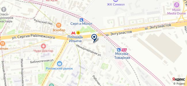 Симбирск-Кроун на карте