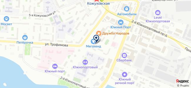 Мегавакуум на карте