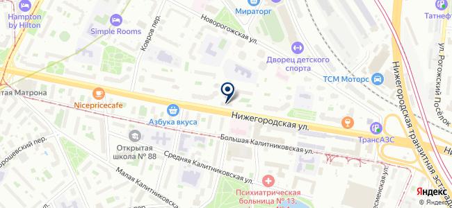 Тсс-Актив на карте