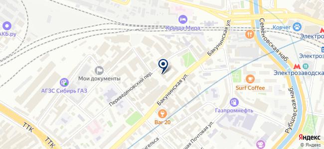 ЭлектроМашХолдинг на карте