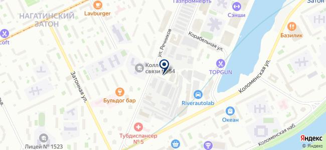 ЭСТО на карте