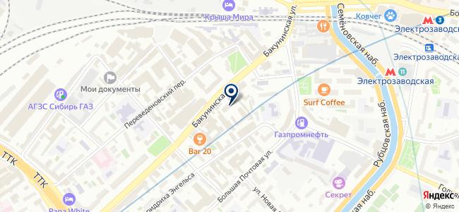 ИКТС на карте