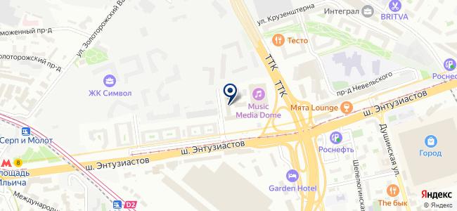 СПКБ Техно, ЗАО на карте