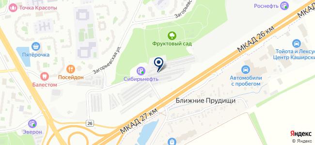 Мой bmw на карте