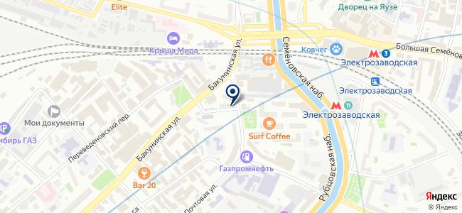Транссигналстрой, ОАО на карте