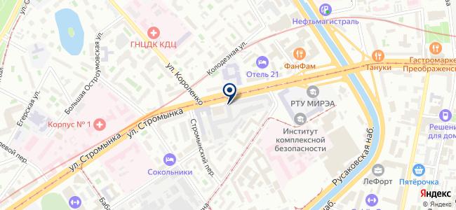 Лаборатория Электроники, ЗАО на карте