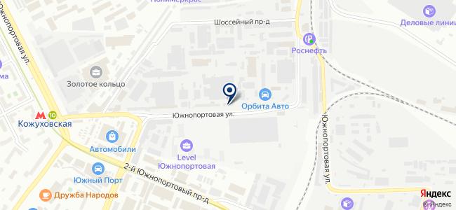 Меридиан, ООО на карте