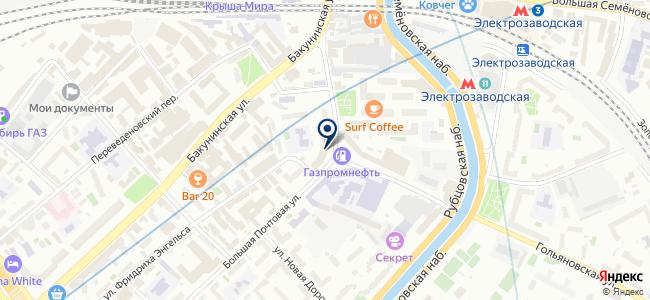 НьюТекноСервис, ЗАО на карте