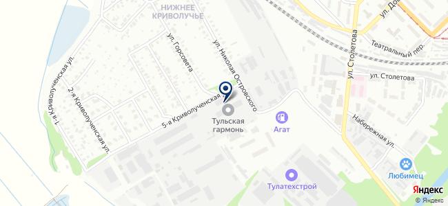 Фарбен-Курск, ООО на карте