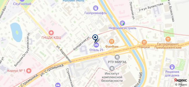 Светодиодные решения на карте