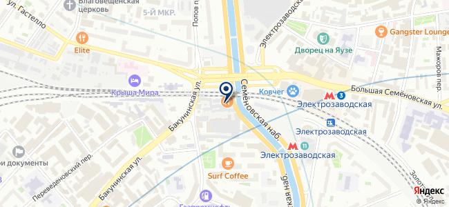 ММУ Центроэлектромонтаж, ОАО на карте