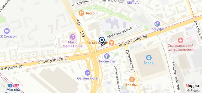 Люменоид на карте