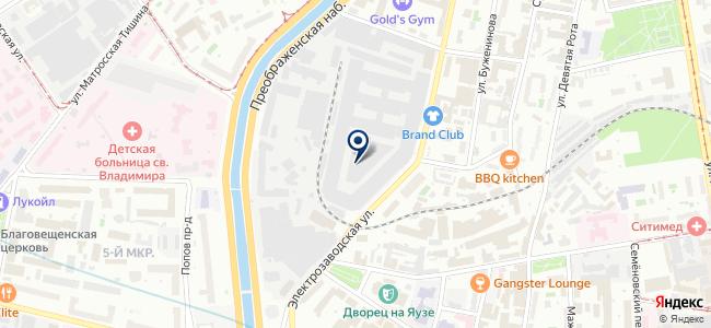 Мегом на карте