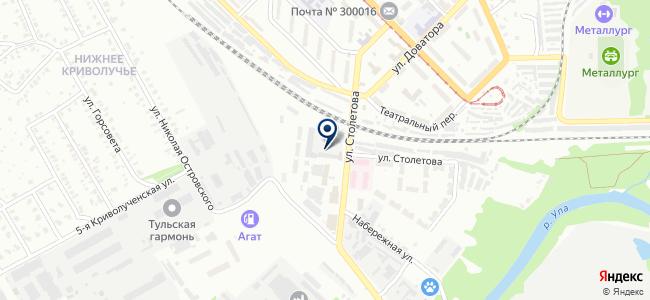 Трест СЗМА, ЗАО на карте