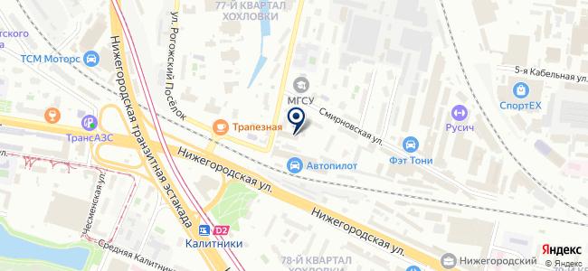 МСК-Энергия, ООО на карте