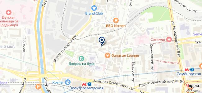 Сев-Евродрайв на карте