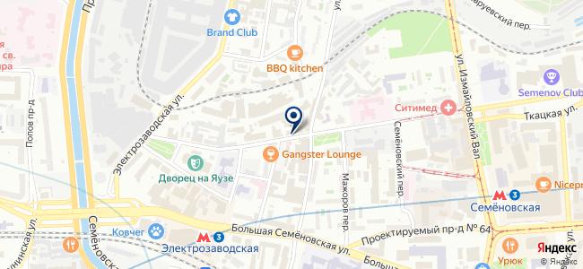 ГЕОСТРОЙИЗЫСКАНИЯ, ЗАО на карте