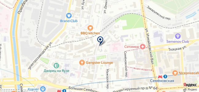 Рубанков, ООО на карте