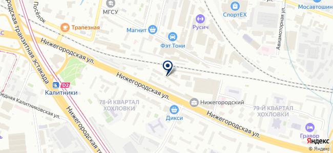 Ремком-Строй на карте