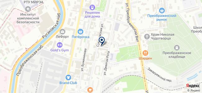 Эленорд, ООО на карте