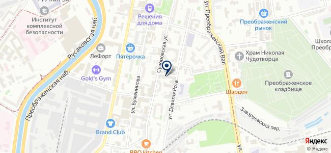 Гейзер-Электро на карте