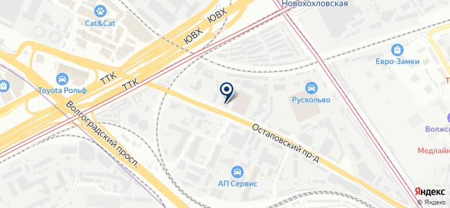 Аист-инвест, ООО на карте