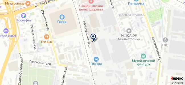 Эстралин ЗВК, ООО на карте