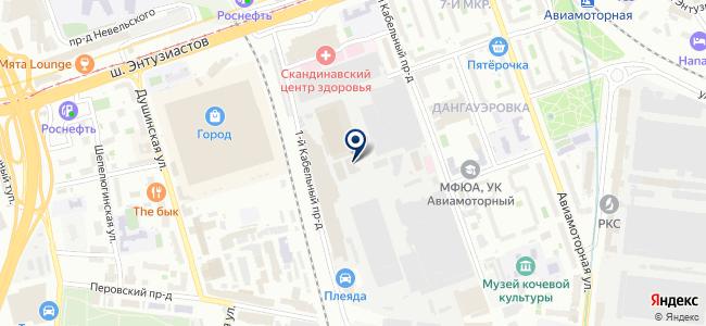 АСУ-ВЭИ на карте