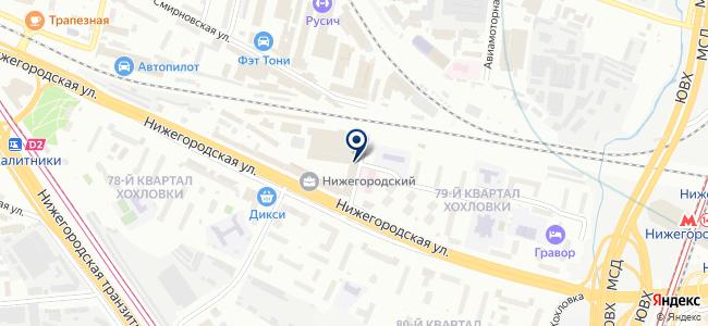 Спецэлектропривод на карте